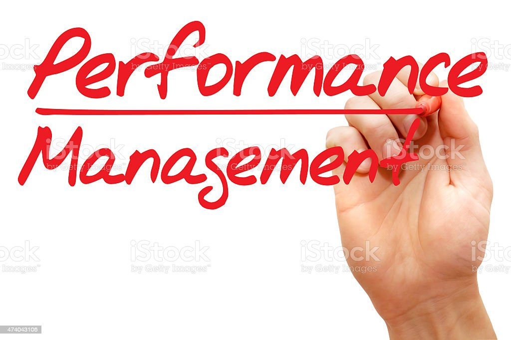 Performance Management stock photo