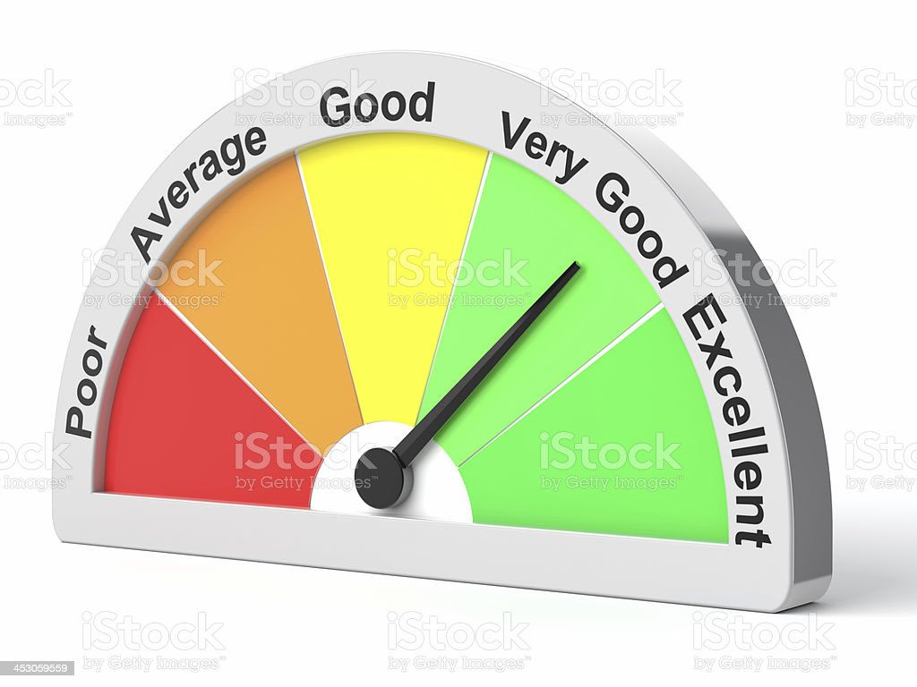 Performance Meter royalty-free stock photo