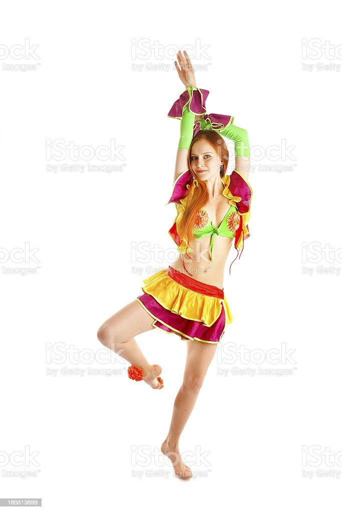 performance of ballerina royalty-free stock photo