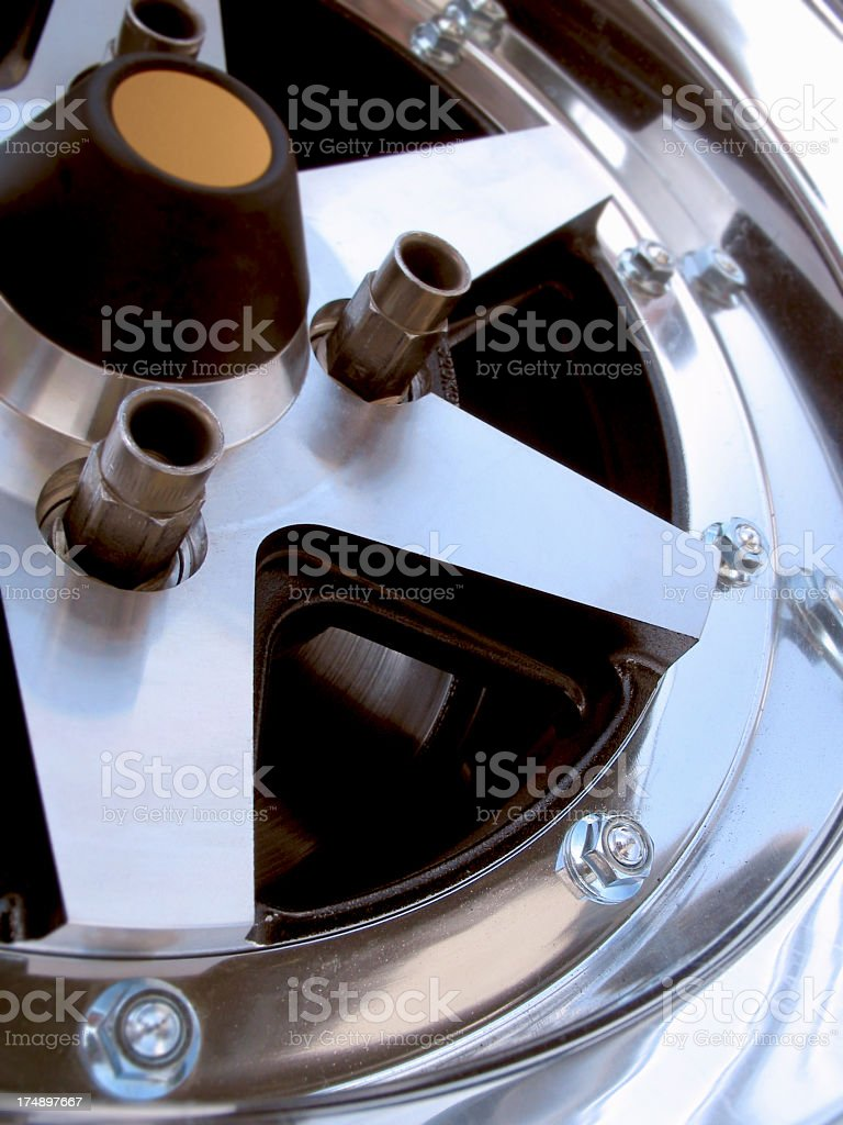 Performance Racing Rim royalty-free stock photo