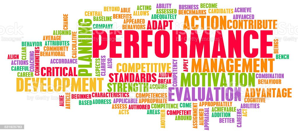 Performance Review stock photo