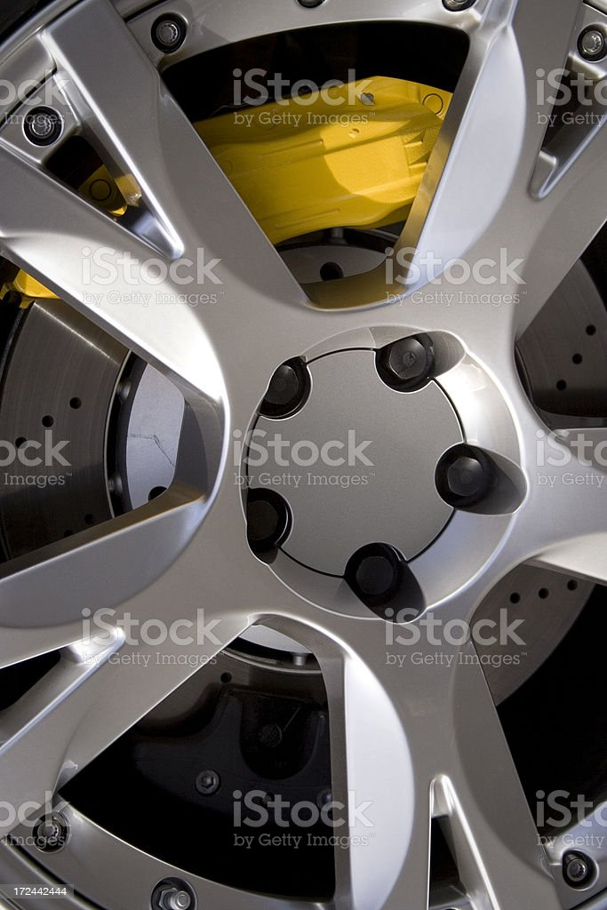 Performance Wheel royalty-free stock photo