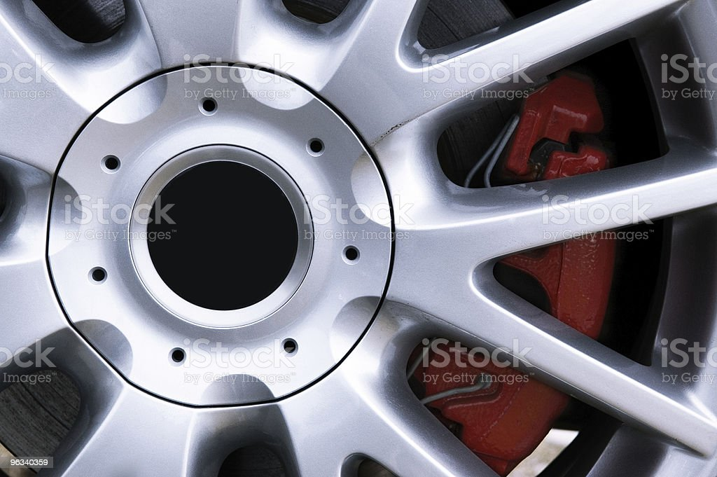 Performance Wheel stock photo