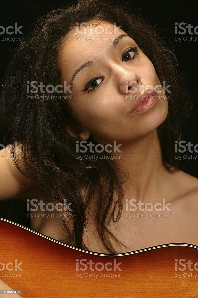 performer stock photo