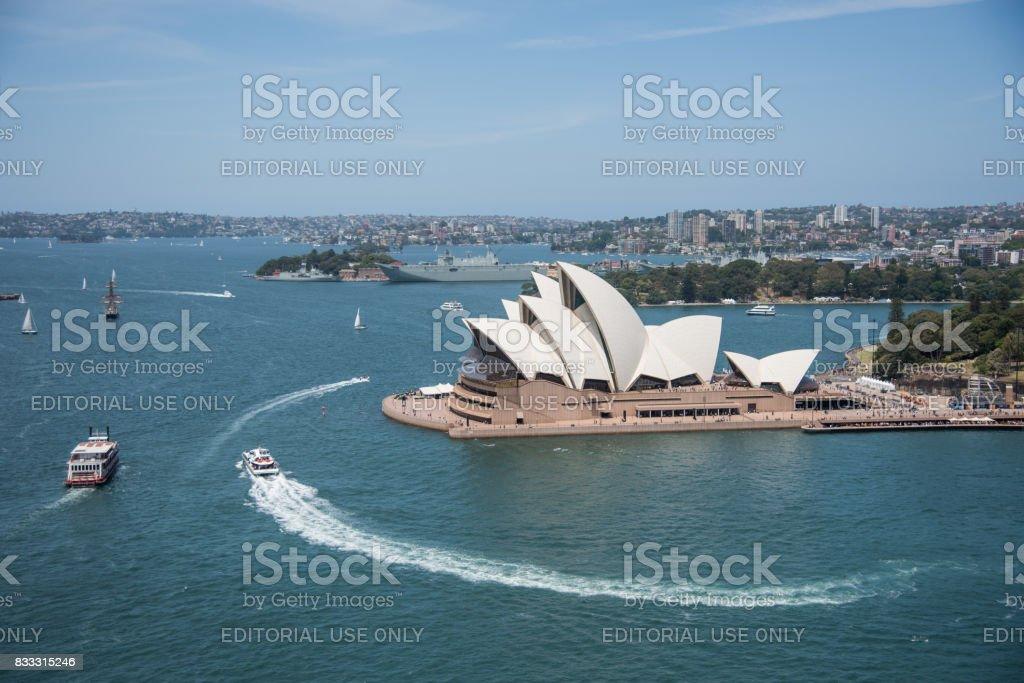 Performing Arts Centre: Sydney Opera House stock photo