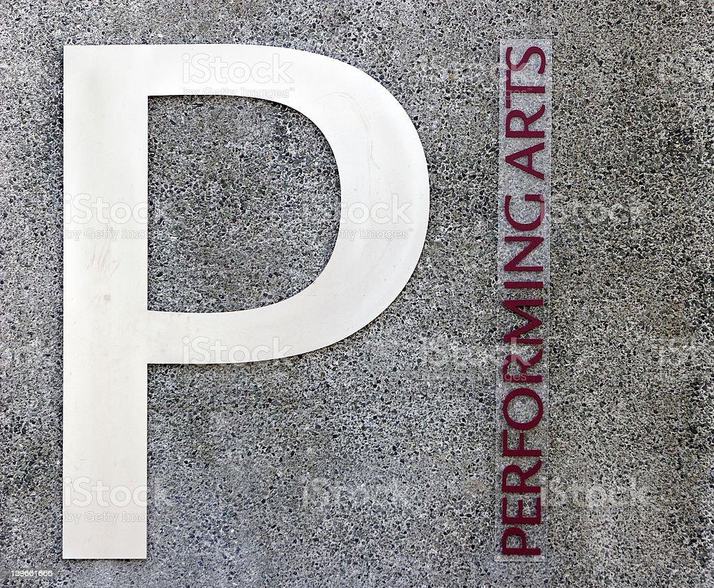 Performing Arts stock photo