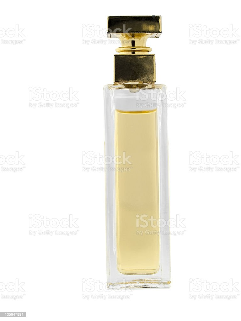 Botella de Perfume foto de stock libre de derechos