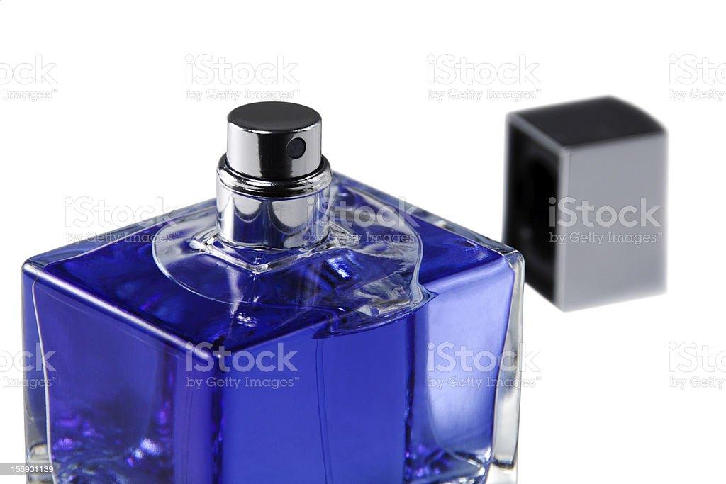 perfume opened royalty-free stock photo