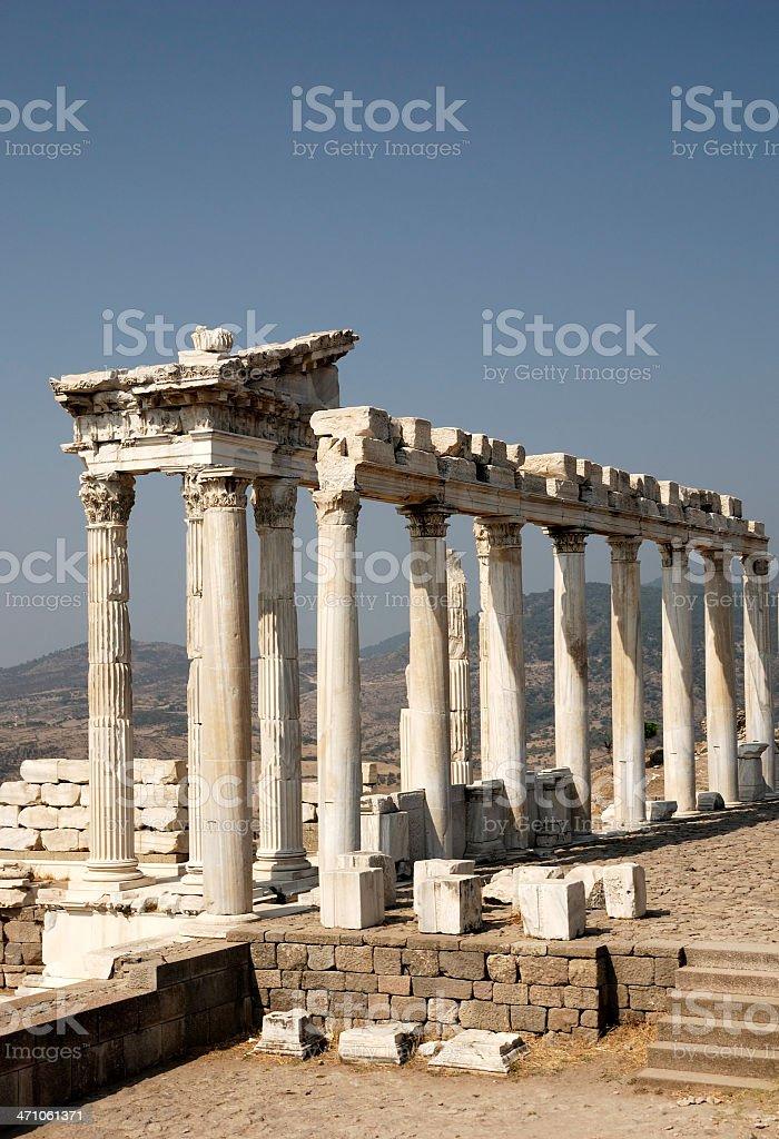 Pergamon stock photo