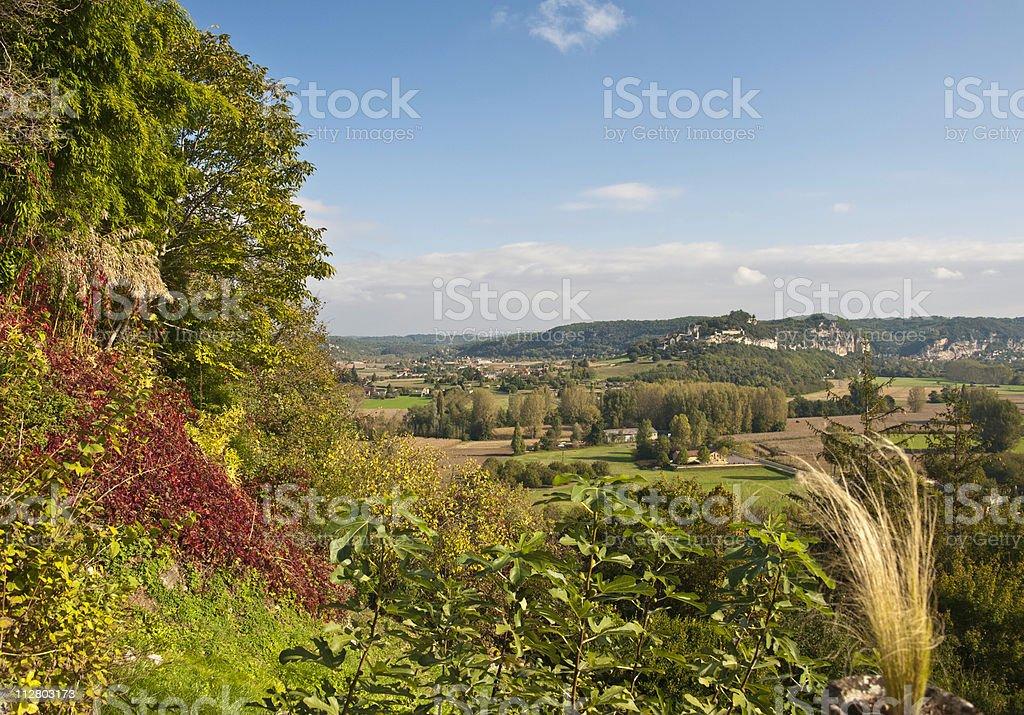 Perigord Landscape stock photo
