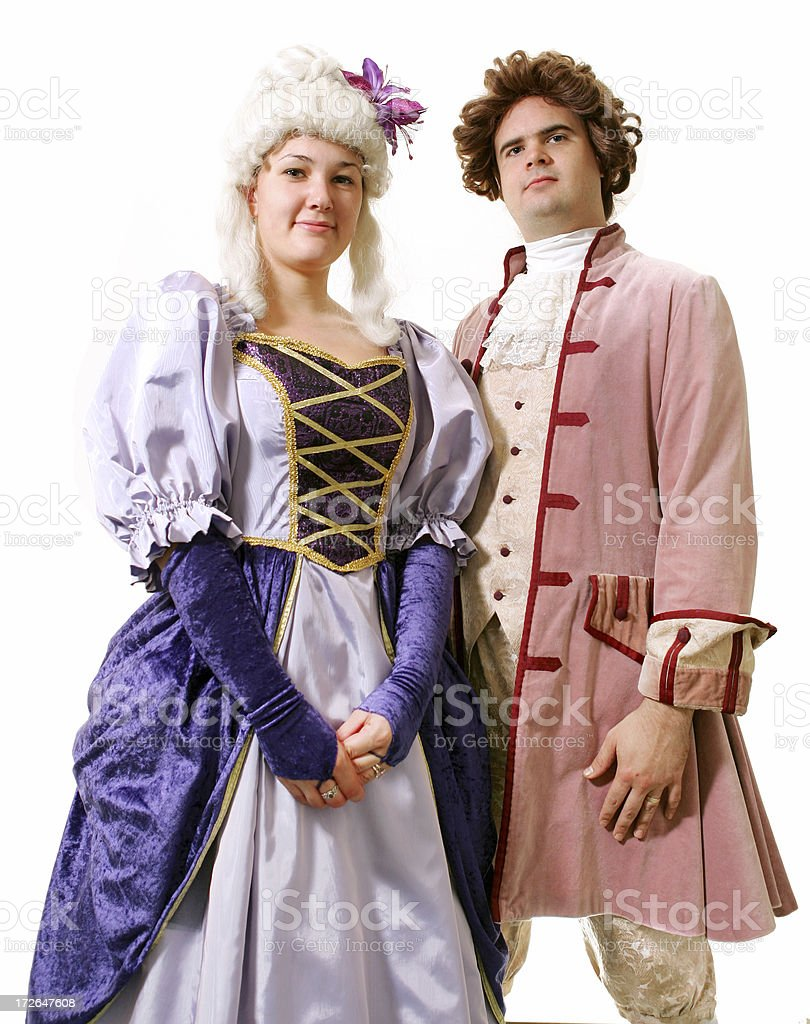 Period Couple royalty-free stock photo
