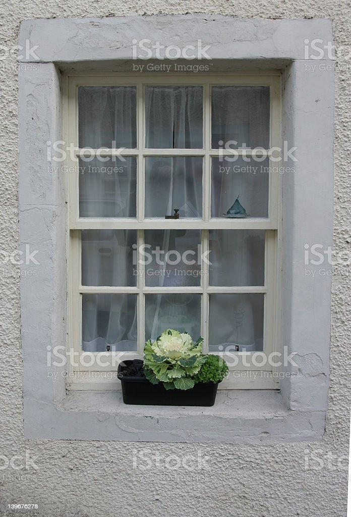 Period Window royalty-free stock photo