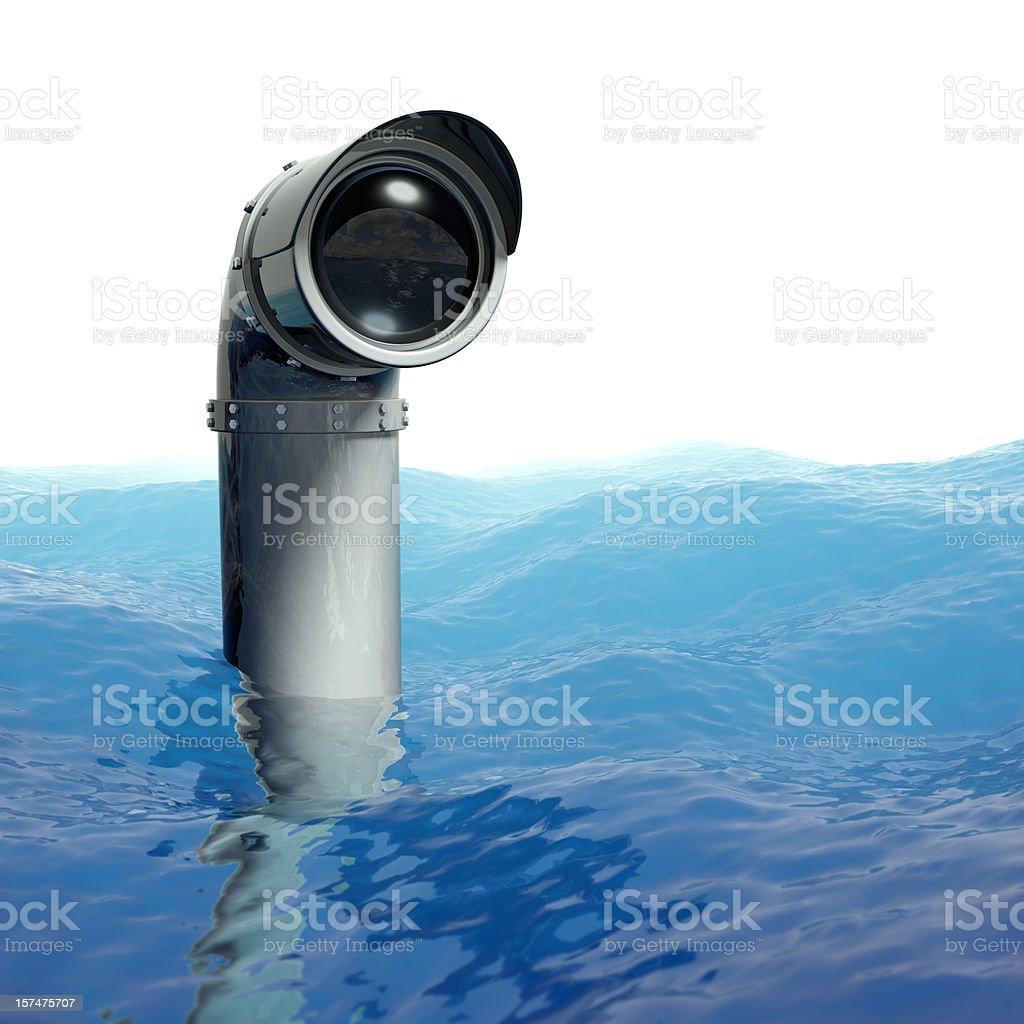 Periscope stock photo