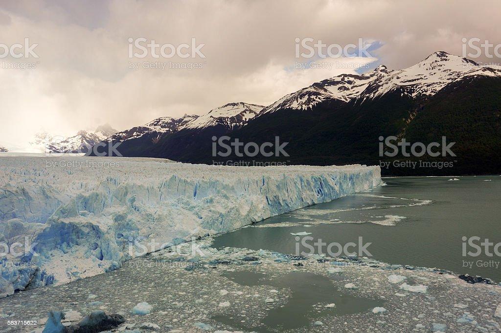 Perito Mereno Glacier stock photo