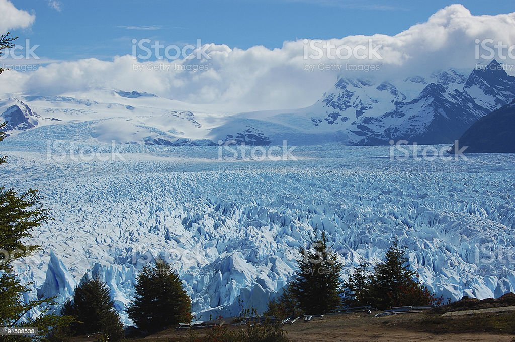 Perito Moreno from high royalty-free stock photo