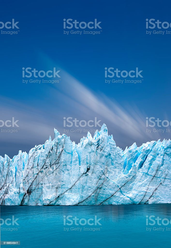 Perito Moreno Glacier, Argentina stock photo