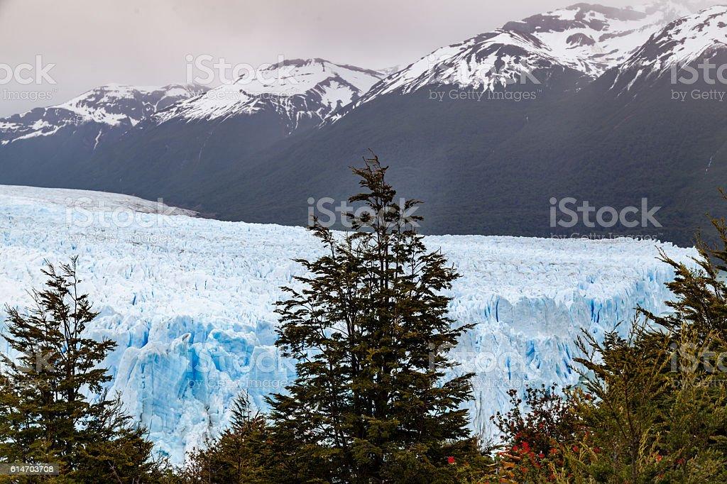 Perito Moreno Glacier Argentina stock photo