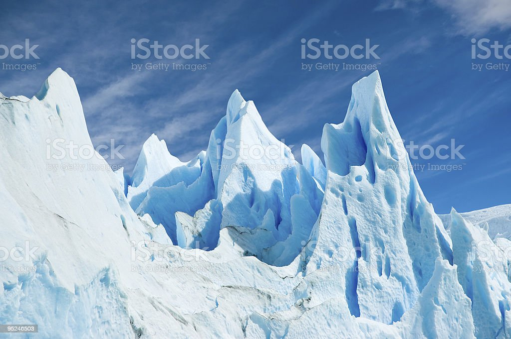 Perito Moreno glacier, patagonia argentina. royalty-free stock photo