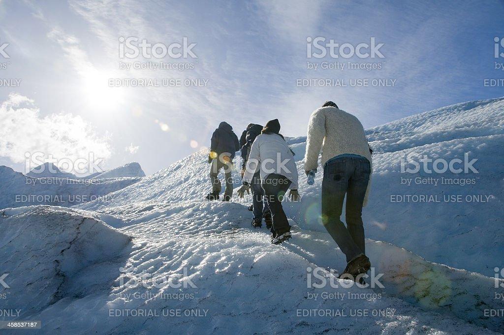 Perito Moreno Glacier, Calafate, Argentina stock photo