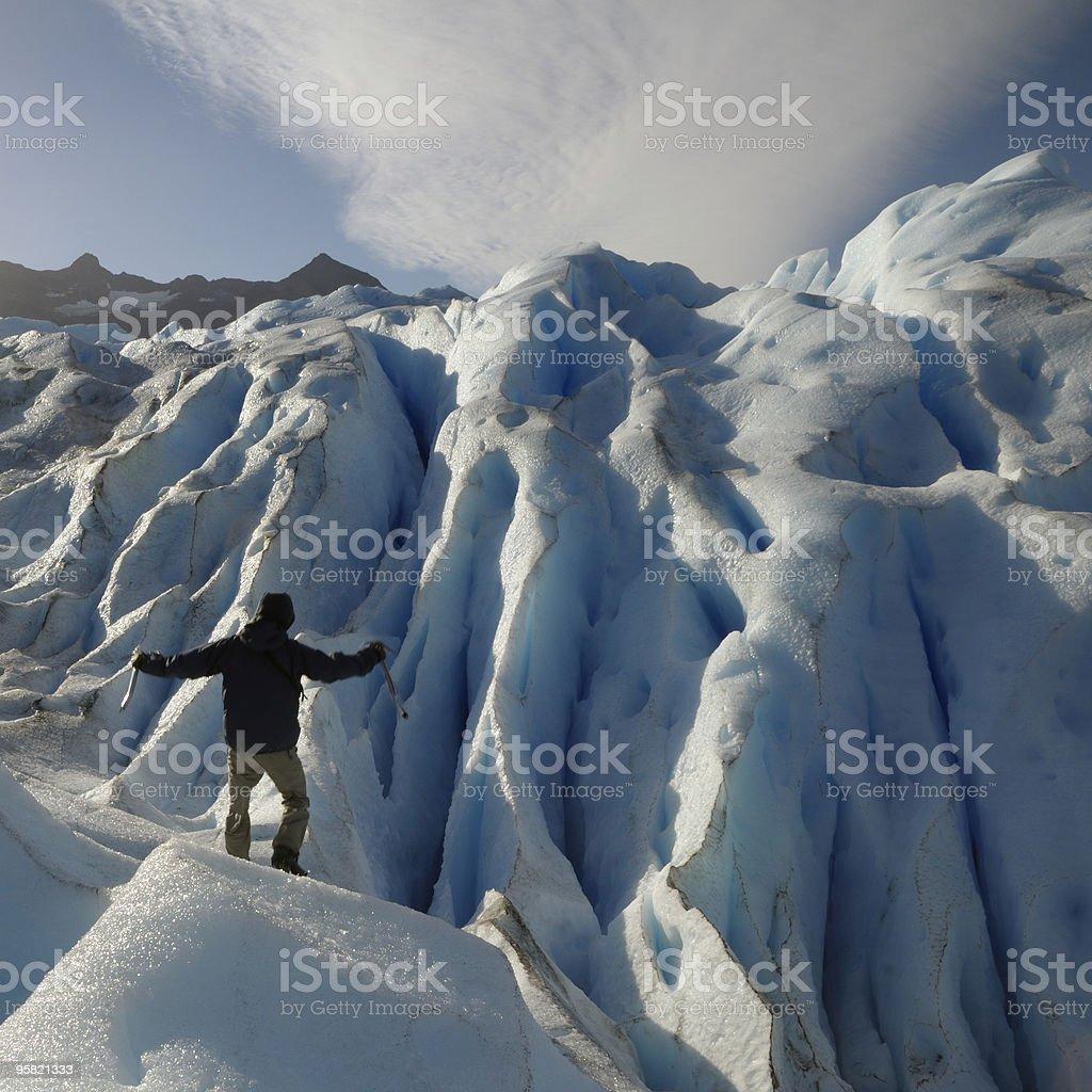 Perito Moreno Glacier, Calafate, Patagonia, Argentina royalty-free stock photo