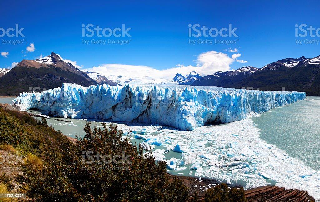 Perito Moreno Glacier, El Calafate, Argentina royalty-free stock photo