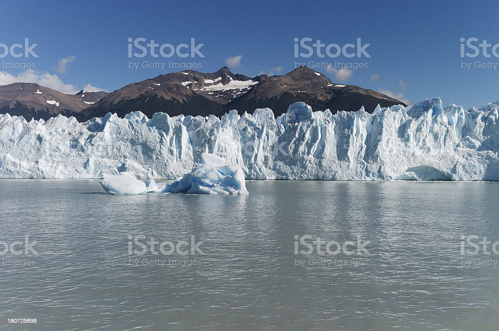 Perito Moreno Glacier in Argentina royalty-free stock photo