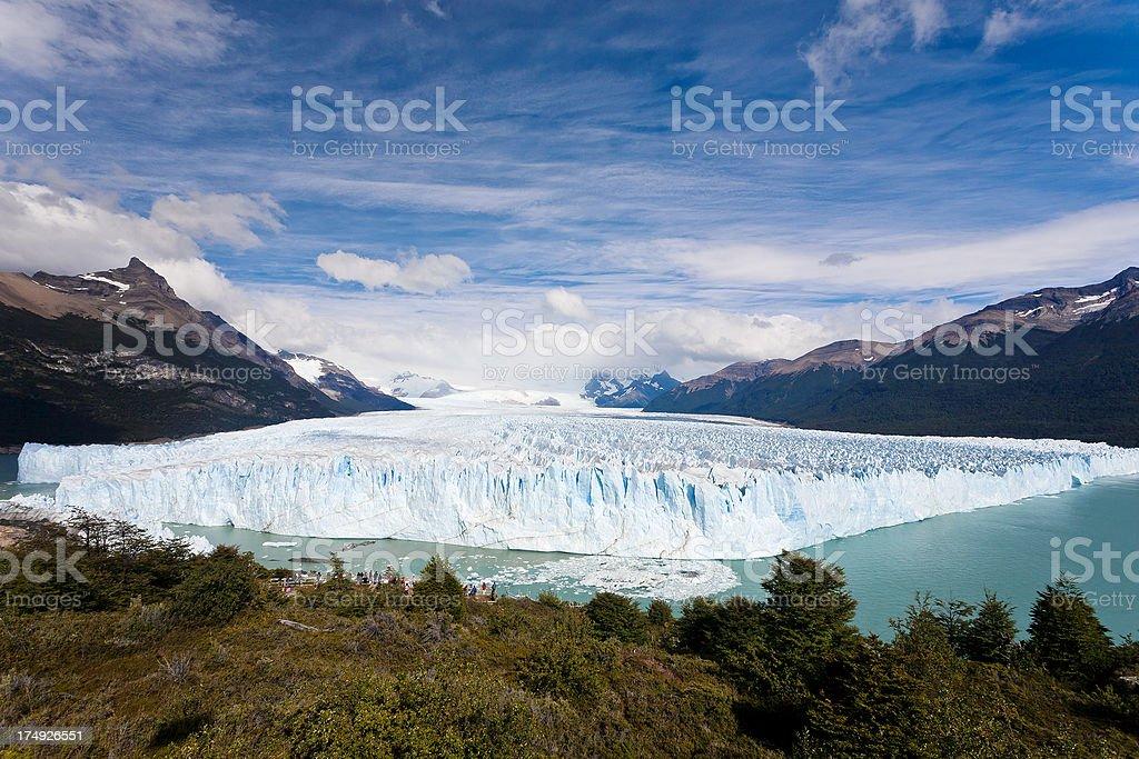 Perito Moreno Glacier In Patagonia, Argentina stock photo