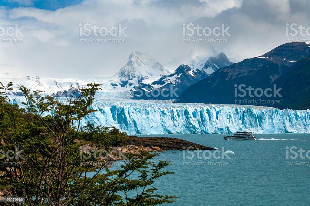 Perito Moreno Glacier, lago Argentino stock photo