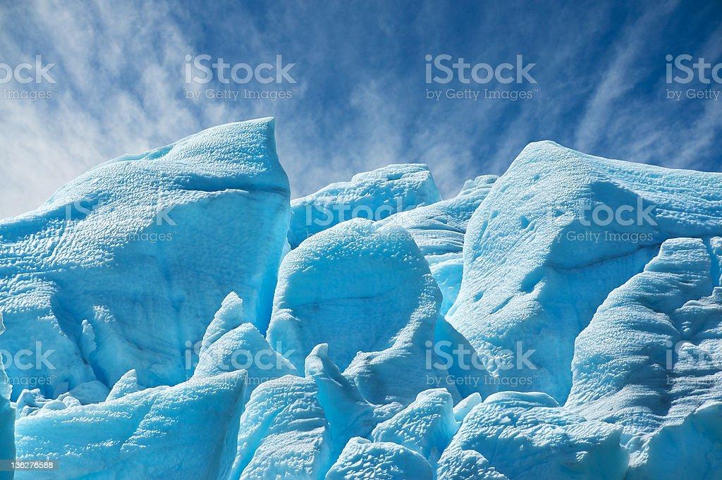 Perito Moreno glacier, patagonia, Argentina. royalty-free stock photo