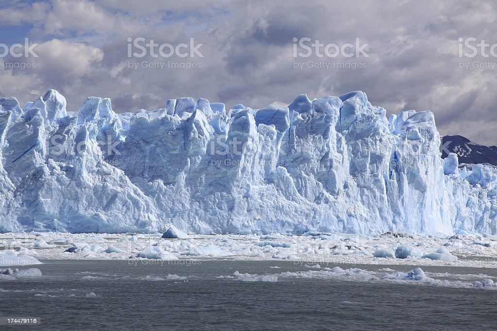 Perito Moreno Glacier, Patagonia, Argentina royalty-free stock photo