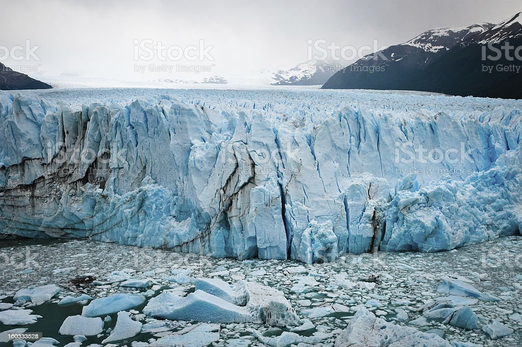 Perito Moreno Glacier. Patagonia (Argentina) royalty-free stock photo