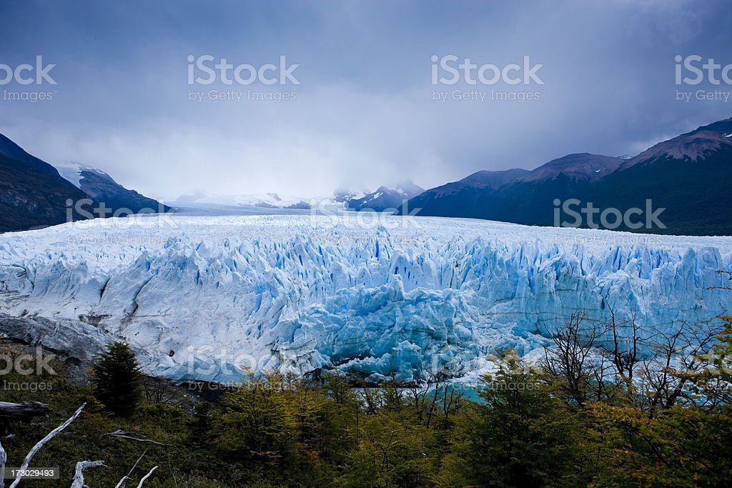 Perito Moreno Glacier, Patagonia royalty-free stock photo
