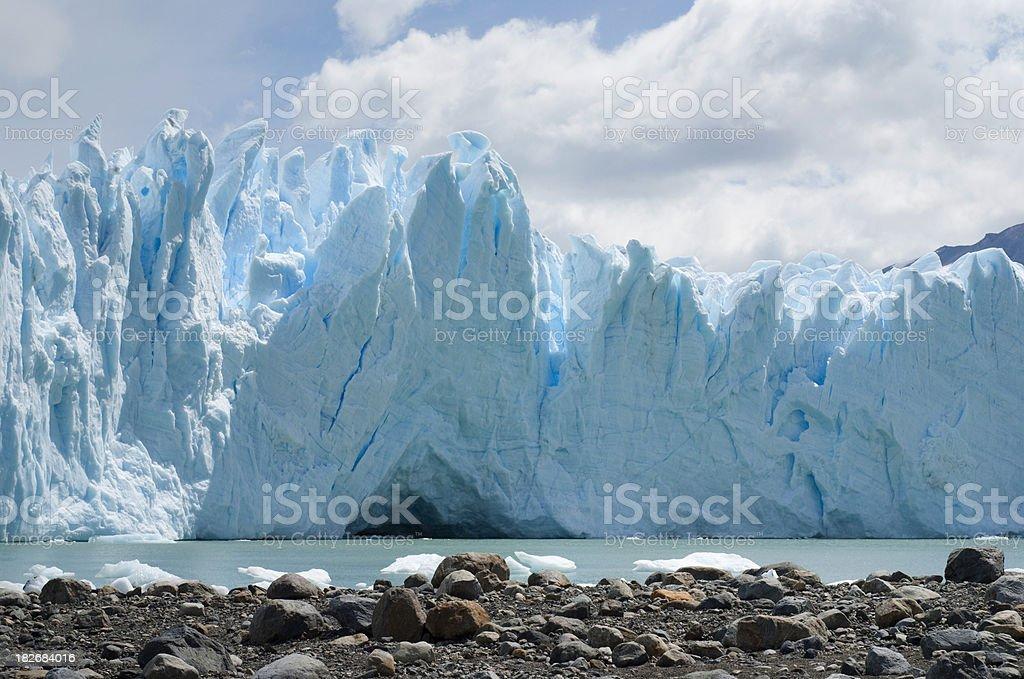 Perito Moreno Glacier (Patagonia) royalty-free stock photo