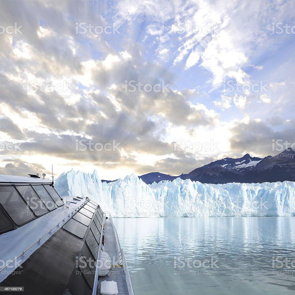 Perito Moreno glacier. royalty-free stock photo