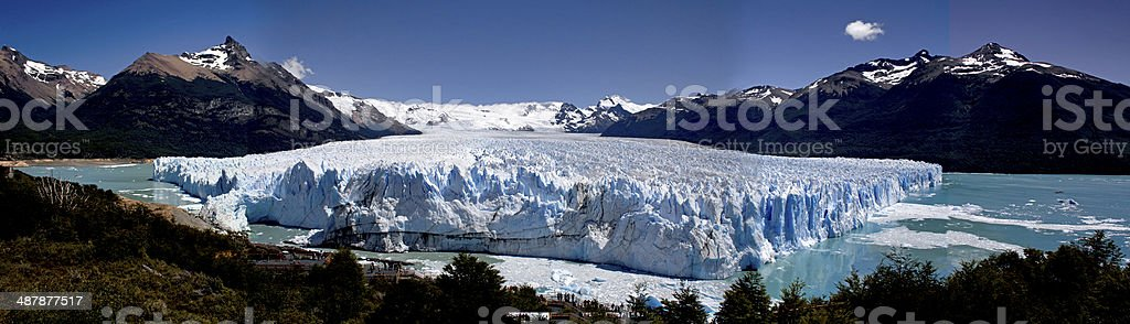 Perito Moreno Glacier photo libre de droits