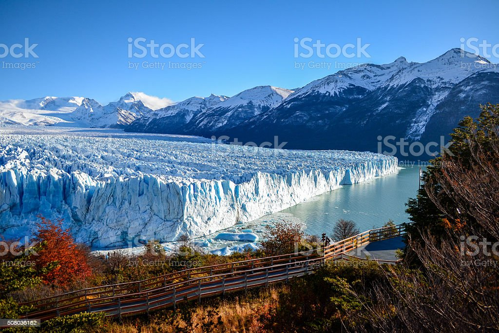 Glaciar Perito Moreno stock photo