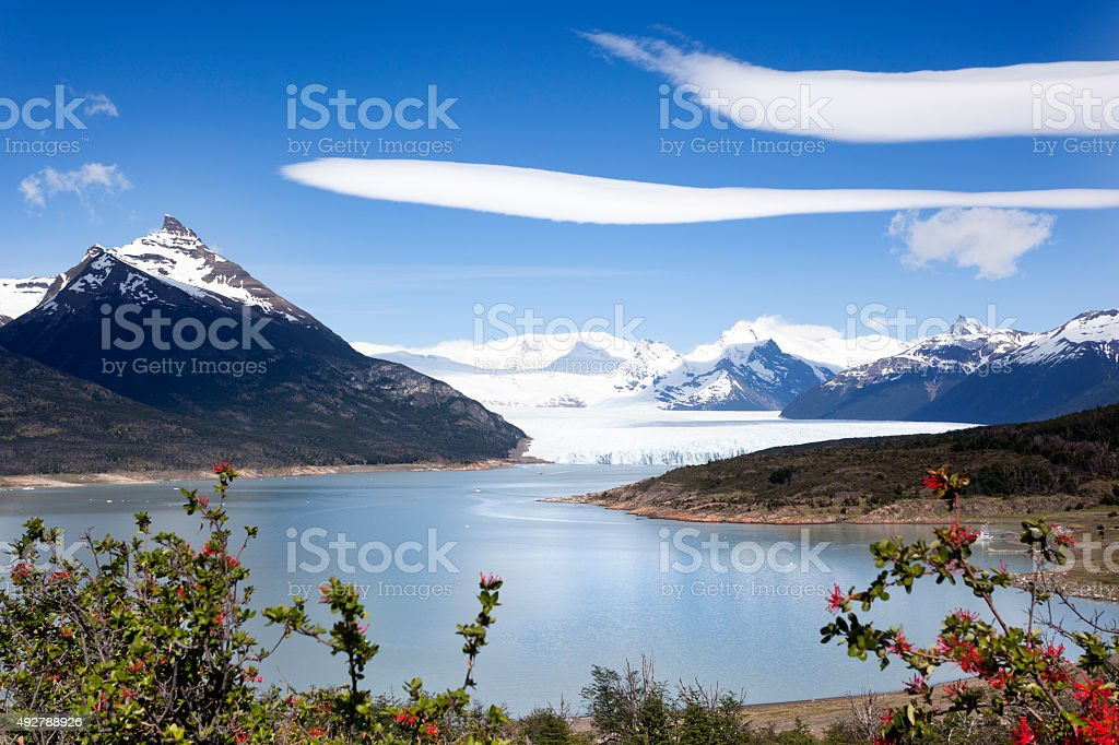 Perito Moreno stock photo
