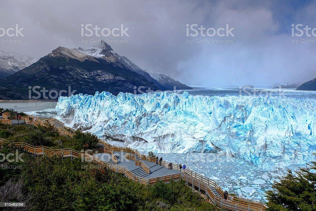 Perito Moreno stock photo