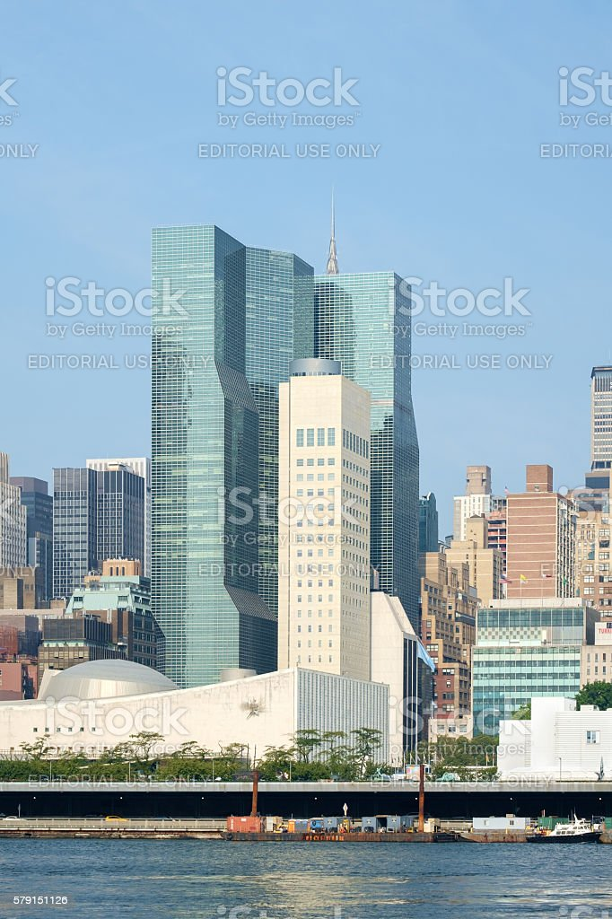 US permanent mission to UN United Nations stock photo