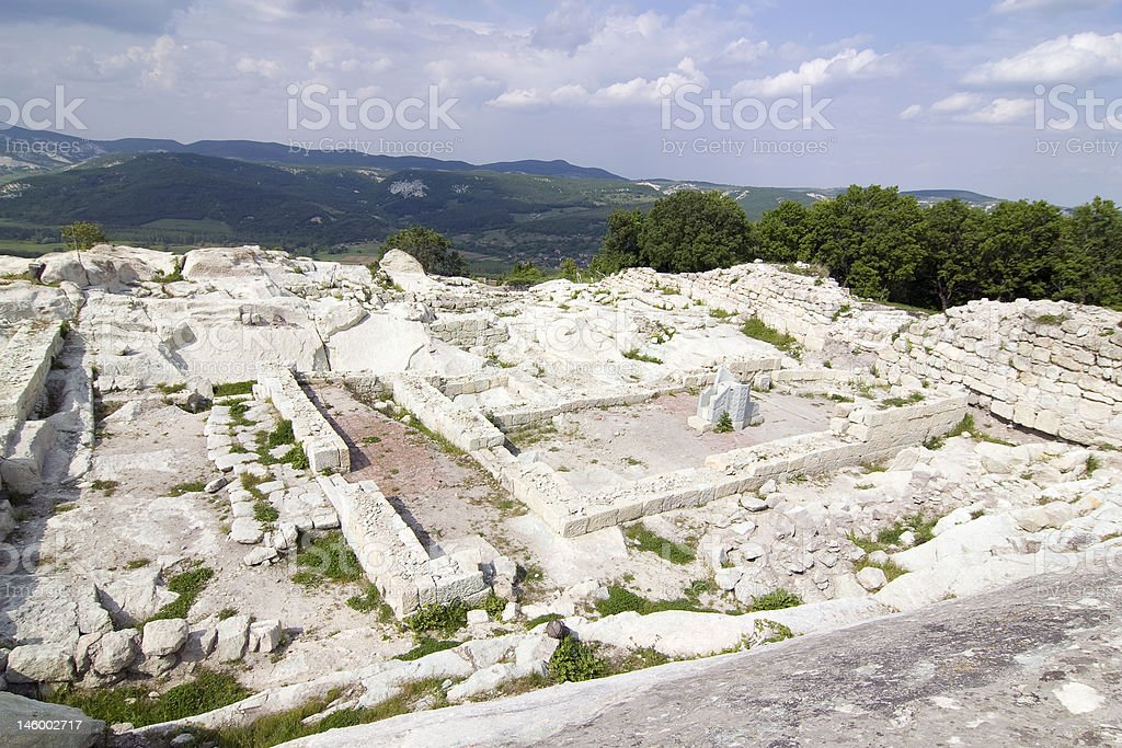 Perperikon royalty-free stock photo