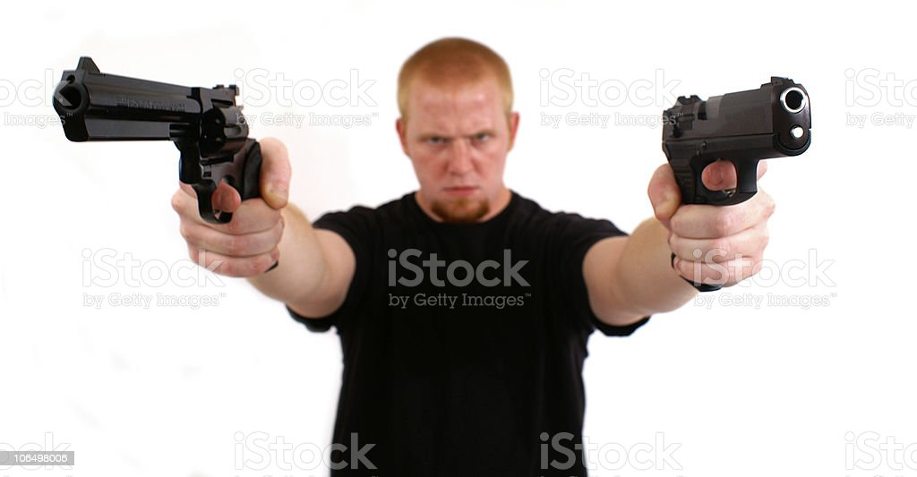 Perpetrator royalty-free stock photo