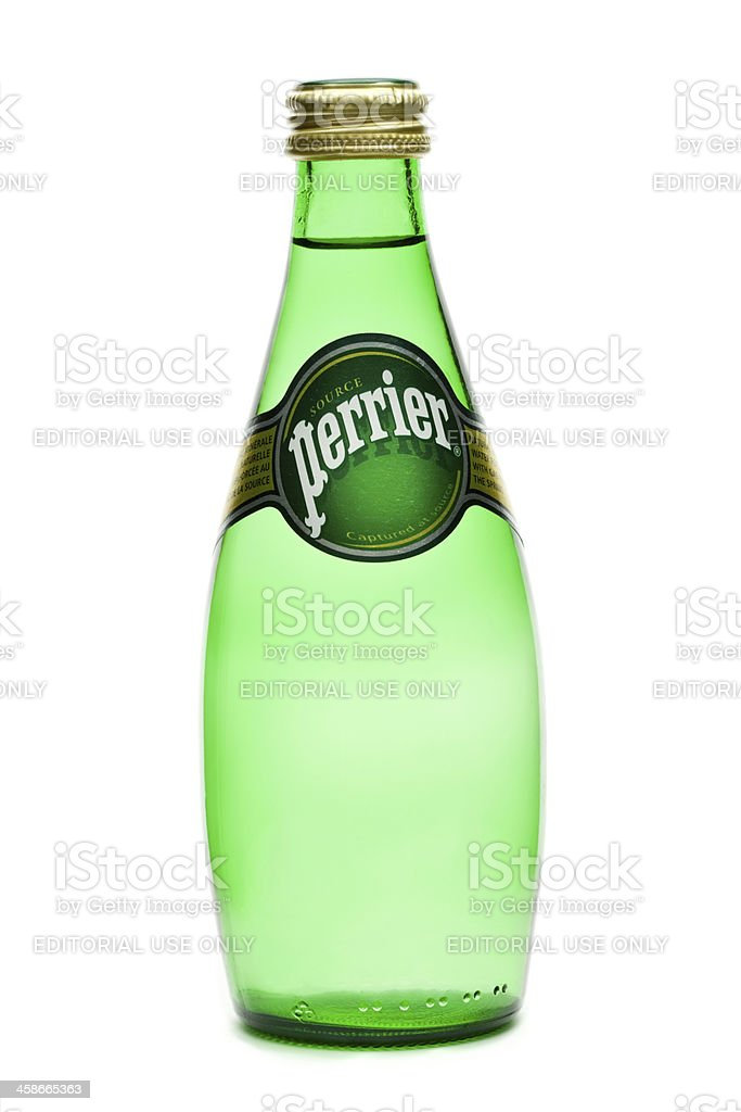 Perrier royalty-free stock photo
