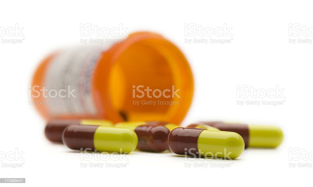 Perscription Drugs royalty-free stock photo