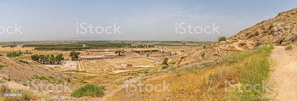 Persepolis city panorama stock photo