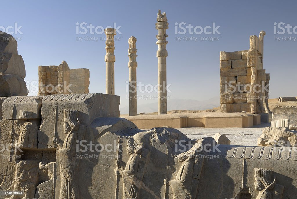 Persepolis, Iran stock photo