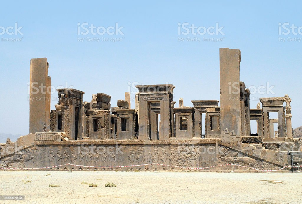 Persepolis, Iran, UNESCO world heritage site stock photo