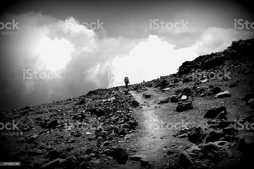 Perseverance stock photo