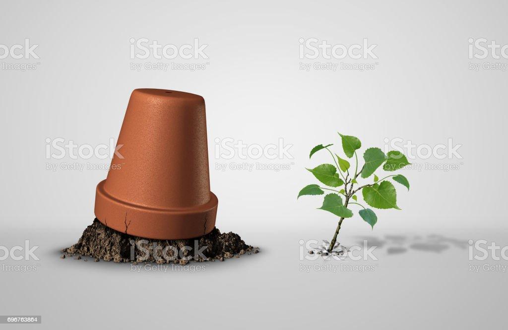 Persevere stock photo