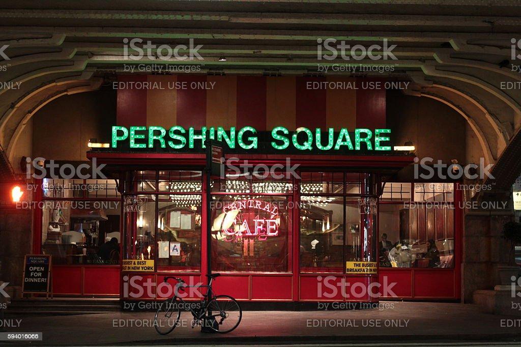 Pershing Square Restaurant stock photo