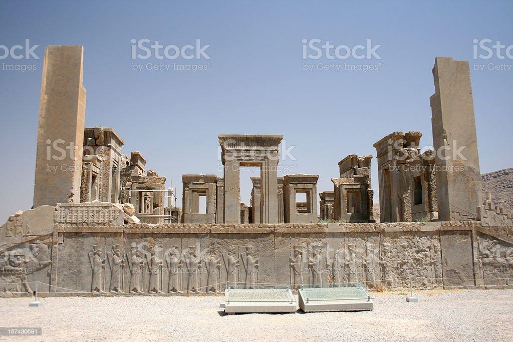 Persia Ancient Persepolis Unesco Site in Iran stock photo